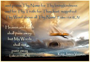 Psalms 138_2 Luke21_33